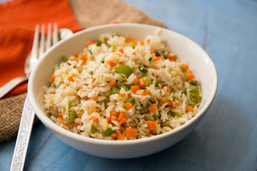 Fried Rice Easy Snacks Recipes for Kids