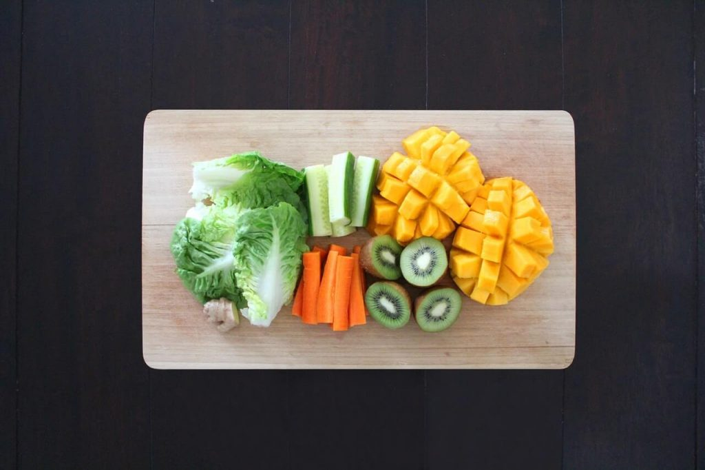 fruit and vegetables for toddlers