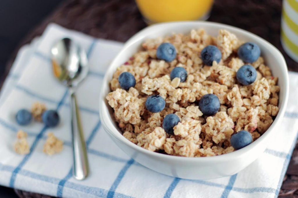 Blueberry Coconut oatmeal recipes for kids