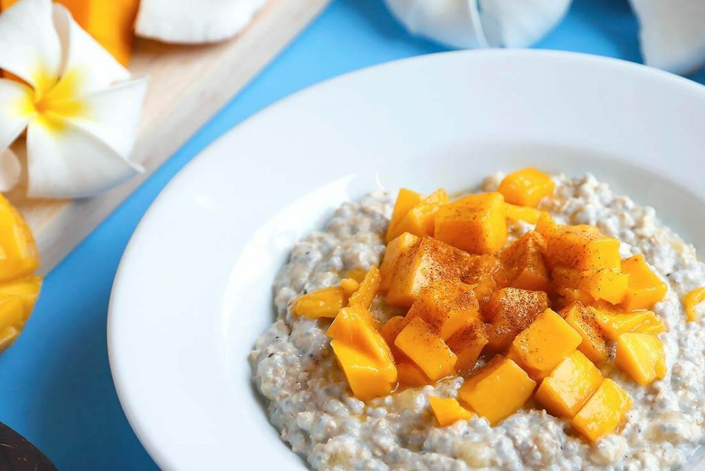 Mango Oats Porridge
