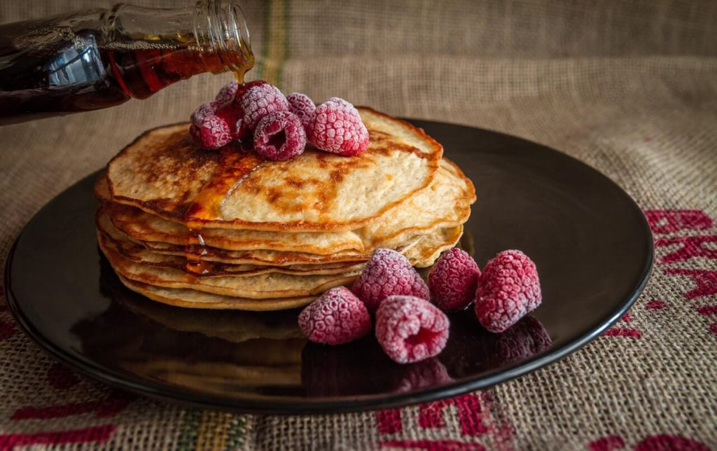 Pancakes for Birthday breakfast ideas for kids