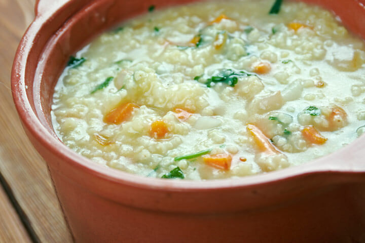 Millet , Carrots and Apples Stew Recipe
